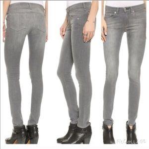Rag & Bone Gray Skinny Buxton Jeans Size 25